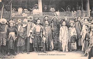 Vietnam, Viet Nam Costumes et Actenrs Annamites  Costumes et Actenrs Annamites