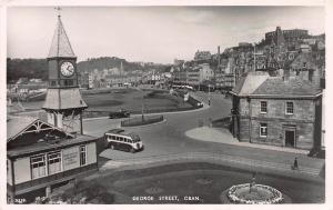 George Street, Oban, Scotland, Early Real Photo Postcard, Unused