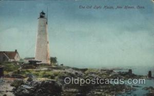 New Haven, Conn USA Lighthouse, Lighthouses Postcard Postcards  New Haven, Conn