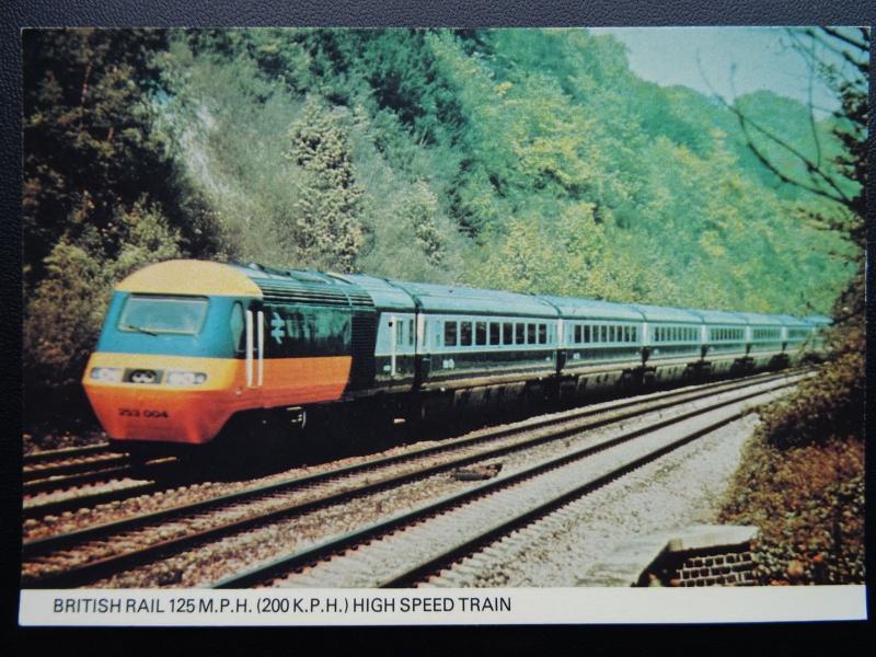 200 Kph To Mph >> Railway British Rail High Speed Train 125 M P H 200 K P H