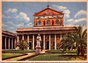 Italy Rome Basilica Of St Paul