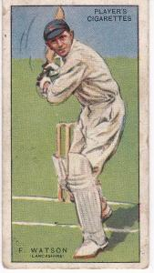 Cigarette Cards Player's Cricketers 1930 No 44 - F Watson