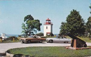 Lighthouse , Goderich , Ontario , Canada , 50-60s