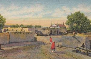 Isleta Indian Pueblo , 1930-40s