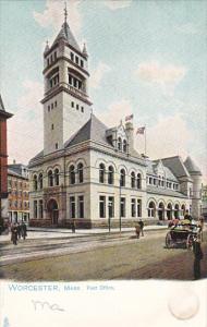 Post Office Worcester Massachusetts Tucks