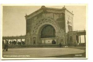 Pan American Expo Spreckles Organ RPPC Postcard