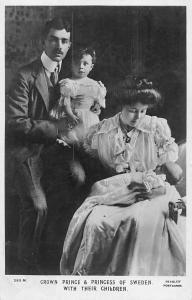 Royalty Crown Prince Gustaf VI Adolf Princess Margaret of Sweden, Children