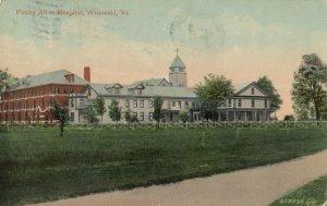 WINOOSKI , Vermont, PU-1912 ; Fanny Allen Hospital