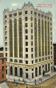 Portland Maine~11-Story Beaux Arts Fidelity Trust (People's United Bank) 1912