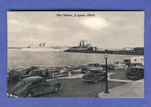 St. Ignace, Michigan/MI Postcard, The Harbor