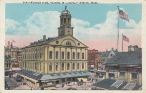 BOSTON, Massachusetts, 1900-10s; Faneuil Hall, Cradle of Liberty
