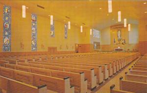 Interior View, Our Lady of Fatima Shrine, Scarborough, Ontario, Canada, 40-60´s