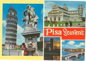 Italy, Pisa Souvenir, unused Postcard
