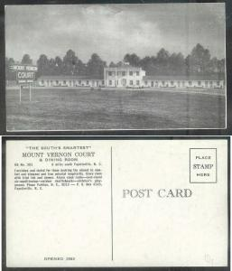 North Carolina, Fayetteville, Mount Vernon Court, unused