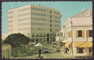 Front Street West,Hamilton,Bermuda Postcard BIN