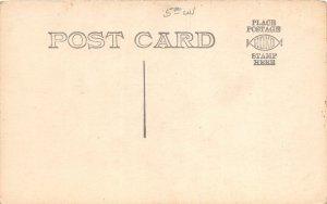 H4/ Mecosta Michigan RPPC Postcard c1910 Residence Home