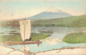 Japan Mount Fuji Hand Colored 03.87