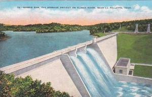 Tennesse La Follette Norris Dam Tva Storage Projest On Clinch River