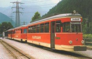 Zillertalbahn VT1 Rotterdam 1950s Dutch Diesel Tram Bus Postcard
