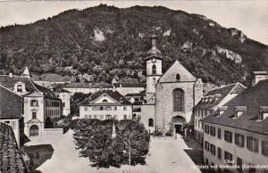 Switzerland Churc Hofplatz mit Hofkirche Photo