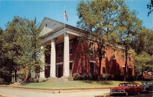 Fort Madison Iowa~Lee County Court House~Classic Cars in Street~1956 Pc