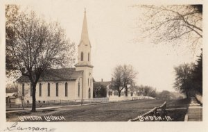 RP: LOWDEN , Iowa , 1909 ; Luthern Church