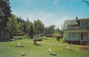 Kaufman's French Creek Lodge and Motel, Parksville, B.C., Canada, 40-60s