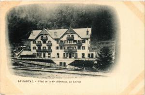 CPA LE LIORAN - Hotel de la Cie d'Orleans - au Lioran (480145)