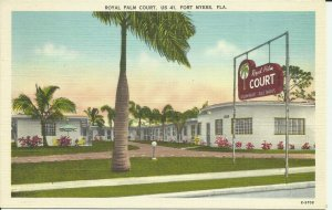 Fort Myers, Fla., US 41, Royal Palm Court