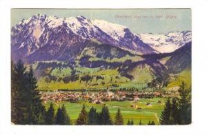 Oberstdorf im Bayr. Allgau. Germany , PU-1922