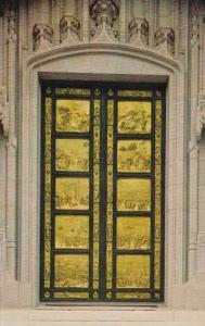 California San Francisco Grace Cathedral The Ghiberti Doors