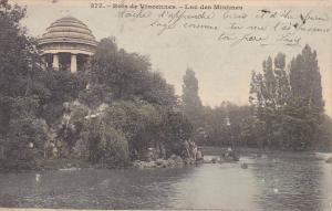France Vincennes Lac de Minimes 1903
