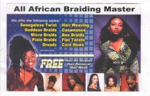 All American Braiding Master, Knightdale , North Carolina, 80-90s