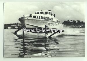 FE0446 - Italian Hydrofoil Ferry - Freccia Del Garda - postcard