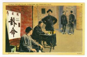 San Francisco, California to Wichita, Kansas 1948 used Postcard, Chinatown