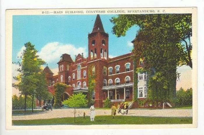 Main Building,Converse College,Spartanburg,SC,00 -10s