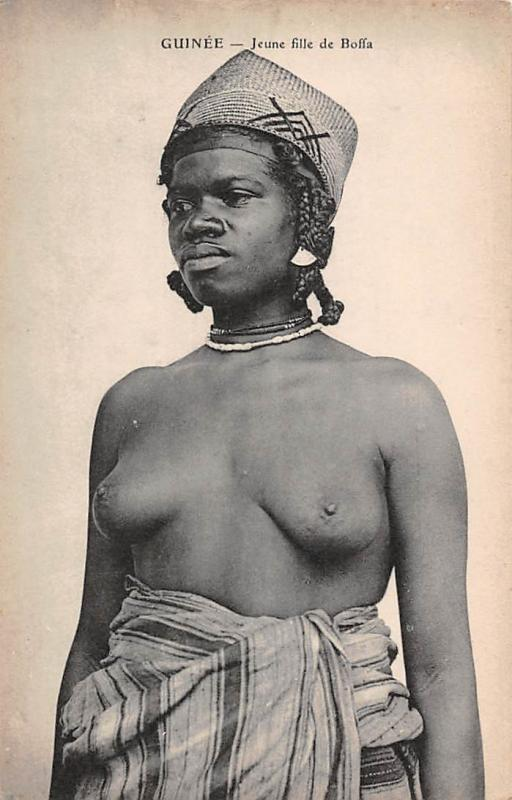 Guinea, Guinee - Jeune fille de Boffa, Native Woman