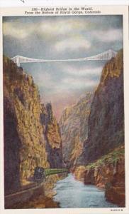 Colorado Royal Gorge Bridge Highest Bridge In The World