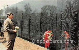 President Reagan, Washington DC Vietnam Veterans Monument Unused