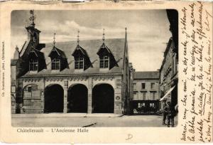 CPA CHATELLERAULT - L'Ancienne Halle (365605)