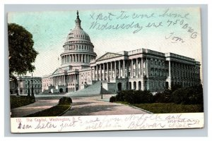Vintage 1906 Postcard Panoramic View of the Capitol Building Washington DC