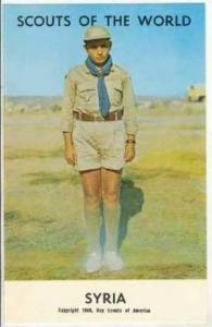 Scouts Of The World, Syria, 1968