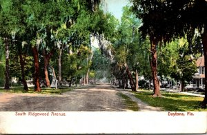 Florida Daytona South Ridgewood Avenue 1921