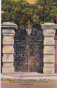 The Sword Gates Gateway Of Simonton Home Charlottesville South Carolina 1943