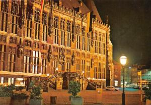 Bad Aachen Rathaus Night view Town hall Auto Cars