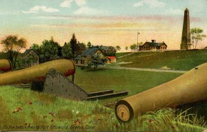 CT - Groton. Fort Griswold, On the Battlements