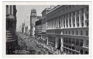 San Francisco, Looking Down Market St. From Powell