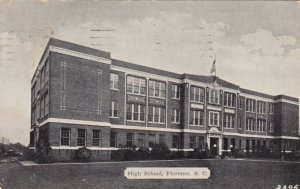 FLORENCE , South Carolina, 1900-10s ; High School