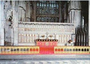 Yorkshire Postcard - Beverley Minster - The High Altar and Reredos   SM226