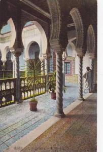 L'Archeveche, L'Interieur, Alger, Algeria, Africa, 1900-1910s